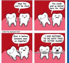 """Sunday Funnies."" #smilemore Make an appointment with Lake Orion's award winning Orthodontist today. Contact DeHaan Orthodontics at 248-391-4477 or visit our website at: http://dehaanortho.com."