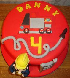 fireman birthday cakes