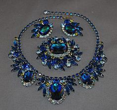 Learn How Much Your Vintage Costume Jewelry is Worth: Juliana/DeLizza & Elster Parure