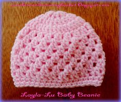 Layla-Lu Beanie             As promised, here is the pattern for the last beanie I made for my Mandela 67  project.     Pattern info:     U...