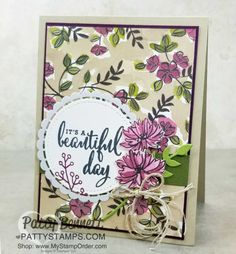 Stampin' Up! Share What You Love bundle card idea by Patty Bennett