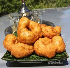 Sfenj, crispy Moroccan donuts