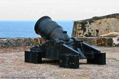 Cannon at El Morro -  San Juan, Puerto Rico by KIDFOX, via Flickr