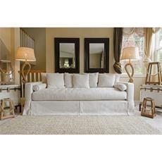 Haley Fabric Sofa in Seashell