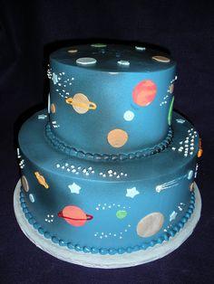 Bolo universo. #bolo #bolodecorado #cake
