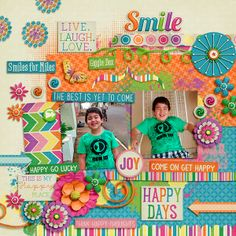 Happy Days Collection by Bella Gypsy Designs Fuss Free: Shake It 6 by Fiddle-Dee-Dee Designs