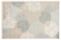 One Kings Lane - Warm Up Your Floors - Marlowe Rug, Light Blue/Beige
