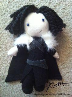 JON SNOW doll Game of Thrones by SKULLbunz on Etsy