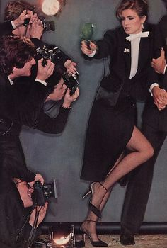 Vogue September 1979, Tuxedo Fashion