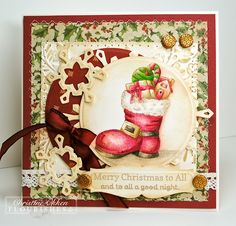 christmas set Flourishes ChristineCreations