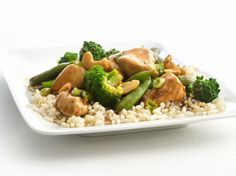 Healthified Cashew Chicken and Broccoli