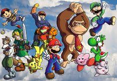 Super Smash Bros. by ChetRippo.deviantart.com on @DeviantArt