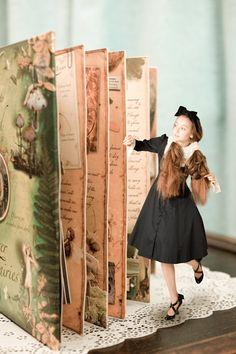 model : Yana/ hair and make up :Ryoko matsuoka/ dresses :Juliette et Justine/ photo :maco azuma