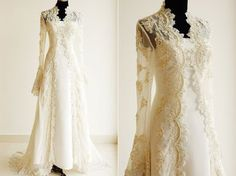 Enchanted Serenity of Period Films: Poll Results: Kate Middleton's wedding dress (and more samples)