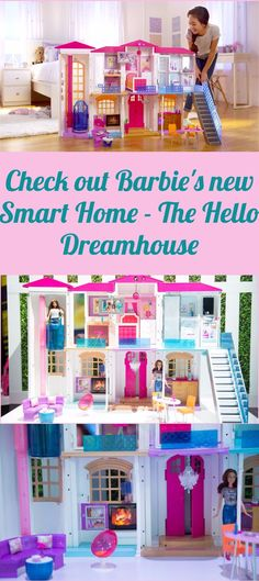 Barbie 3-Story Dream Dollhouse | Toy, Barbie house and Dolls