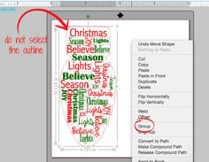 Silhouette Studio Word Art: How to Have Text Form a Shape (Free Cut File) - Silhouette School