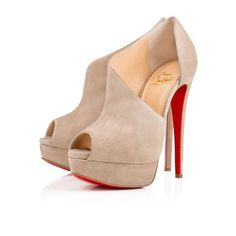 VERITA VEAU VELOURS, PIERRE, Veau velours, Women Shoes, Louboutin. #shoes #christianlouboutin #women #designer #covetme