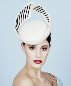 $690.00 Fashion hat Odessa, a design by Melbourne milliner Louise Macdonald