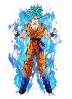 Goku super saiyan blue by BardockSonic on DeviantArt