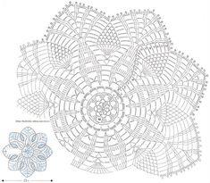 схемы салфеток крючком - Поиск в Google