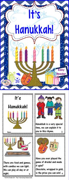 Perfect for the classroom or as a Hanukkah gift!$