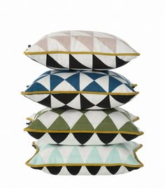 Little Geometry Cushions by ferm living