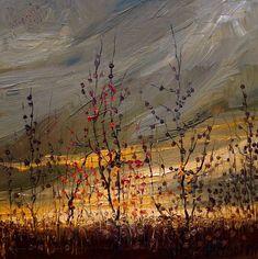 Великолепные пейзажи масляными красками Юстыны Копании - 0008