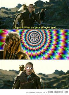 Elf-eyes view…