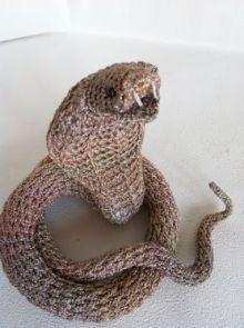 cobra amigurumi pagina japonesa