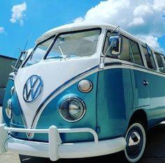 Baby Blue Bus