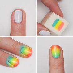 Neon nails - Saara Sarvas