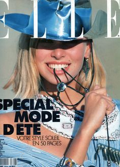 French ELLE Cover Niki Taylor