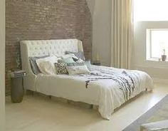 white brick bedrooms - Google Search