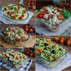 primi piatti freddi estivi ricetta pasta fredda insalata di pasta estiva ricette Veggie Recipes, Pasta Recipes, Cooking Recipes, Chicken And Dumplings, Weird Food, International Recipes, Pasta Dishes, Summer Recipes, Food Inspiration