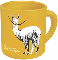 AmazonSmile | DaliLlama Coffee Mug - Start Your Day with Some Inner Peace and Inner Weird - Comes in a Fun Gift Box - by The Unemployed Philosophers Guild: Coffee Cups: Coffee Cups & Mugs