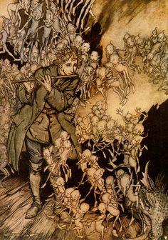 The Gnomes, Arthur Rackham