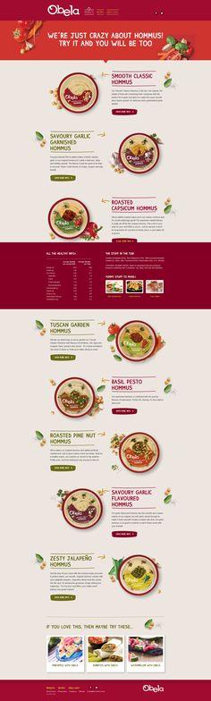 Unique Web Design, Obela @juliemoynat #WebDesign #Design (http://www.pinterest.com/aldenchong/)