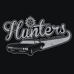 Supernatural Hunters T-Shirt More Info Behind Supernatural Hunters T-Shirt…