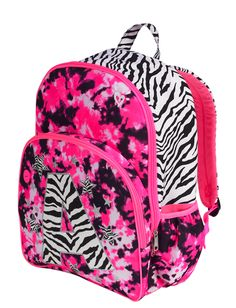 Dye Effect Zebra Initial Backpack | Backpacks & Supplies | Clearance | Shop Justice It needs to be a L though ...