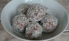 Rychlé kokosové kuličky bez cukru Krispie Treats, Rice Krispies, Kitchen Hacks, Vegan Recipes, Vegan Food, Oatmeal, Muffin, Baking, Breakfast