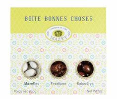 Boîte bonnes choses Mini Labo, Mazet, chocolat, made in france, gourmandises