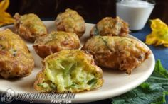Fokhagymás cukkinipuffancs Quiche Muffins, My Favorite Food, Favorite Recipes, Tasty, Yummy Food, Best Appetizers, Desert Recipes, Cake Recipes, Food And Drink