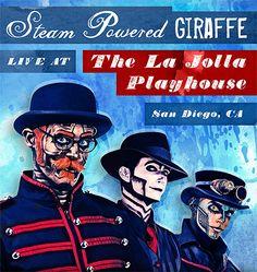 Steam Powered Giraffe - Musical Pantomime Troupe - WEBSITE