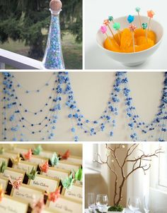 Wedding ideas for origami stars