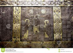 Christian Relic Silver And Gold Trunk Detail Editorial Stock Image - Image of image, detail: 106068639