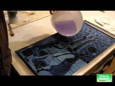 Vitrification avec la resine epoxy sur une toile peinte - Bing video Dremel, Art Tutorials, Dyi, Contemporary Art, Abstract, Images, Youtube, Painting, Resin