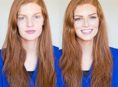Red hot redhead! Makeover Monday: Janae