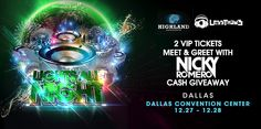 LessThan3 is giving away a Flyaway package to Lights All Night in Dallas to meet Nicky Romero!