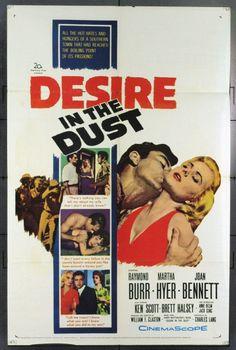 MovieArt Original Film Posters - DESIRE IN THE DUST (1960) 21845, $25.00 (http://www.movieart.com/desire-in-the-dust-1960-21845/)