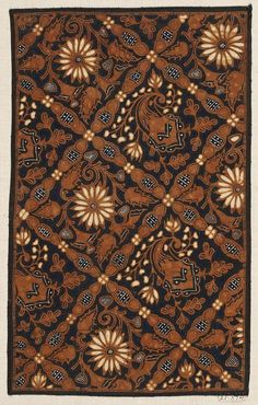 Images and text courtesy MFA Boston. Textiles, Textile Patterns, Textile Art, Print Patterns, Shibori, Batik Solo, Surakarta, Tropical Fashion, Batik Art